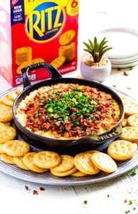 Pinterest Image for Cream Cheese Dip