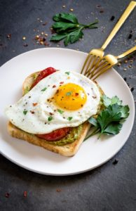 Pinterest Image for Avocado Toast