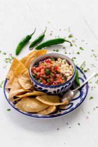Salsa Recipe Pinterest Image