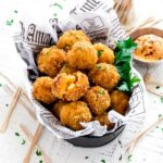 Pinterest Graphic for Mac and Cheese Bites Recipe