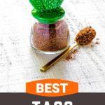 Pinterest graphic for Best Taco Seasoning Recipe