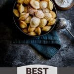 Pinterest graphic for best Madeleines.