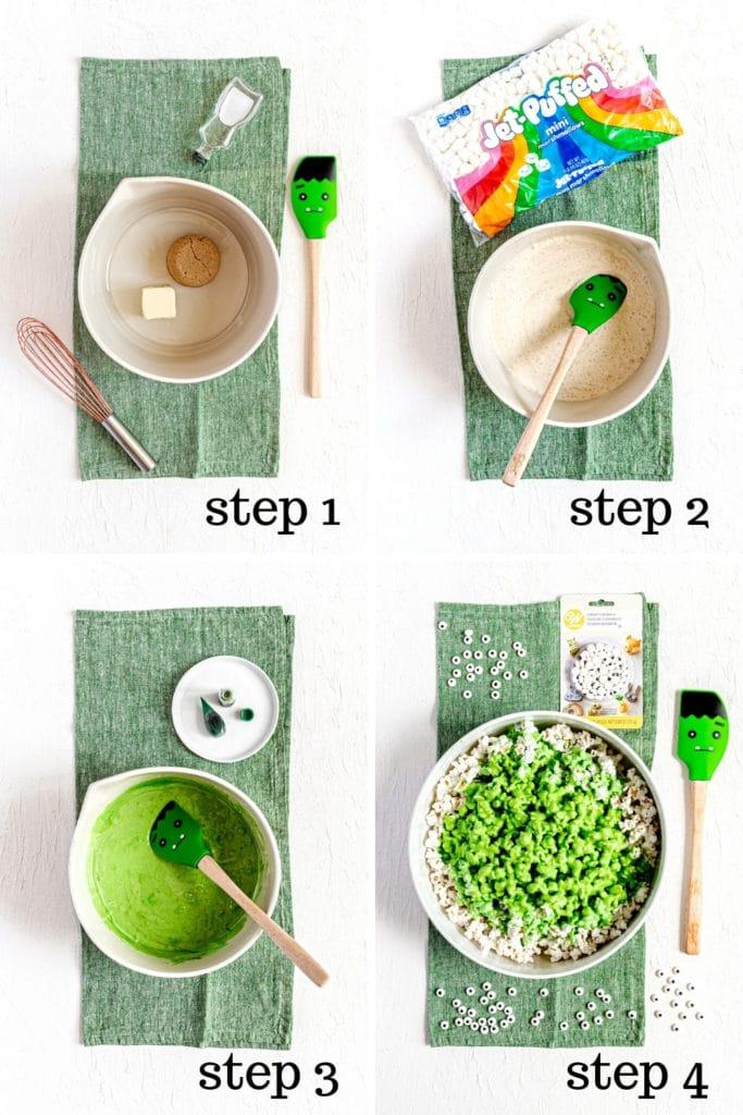 How to make popcorn slime in 4 easy steps.