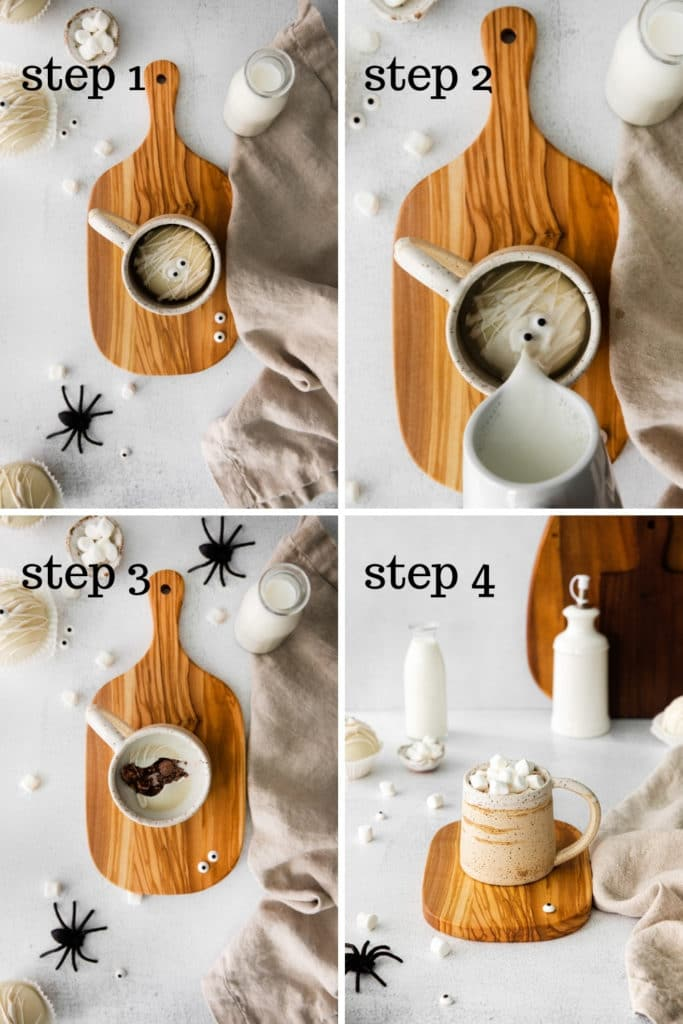 How to activate hot chocolate bombs in easy steps.
