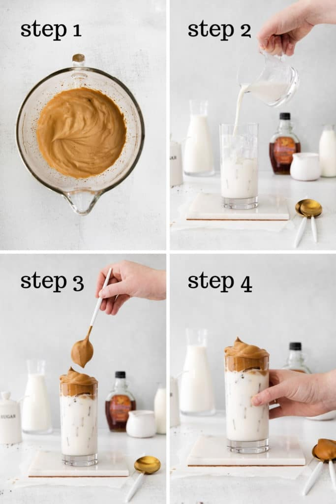 How to make an iced latte at home in 4 easy steps.